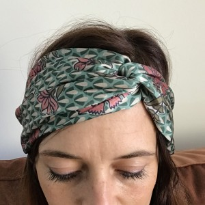 Headband en Satin Pretty